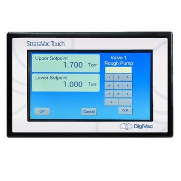 StrataVac Touch screen